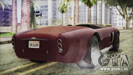 GTA 5 Declasse Mamba IVF pour GTA San Andreas laissé vue