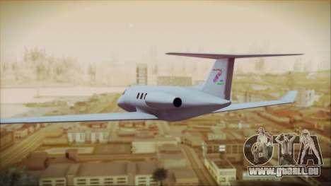 Enterable Customized Shamal für GTA San Andreas linke Ansicht