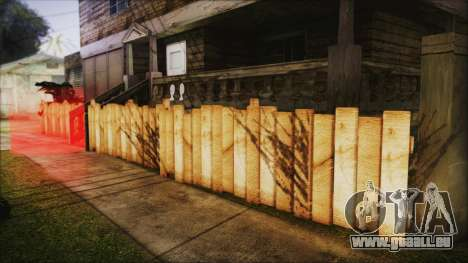 Wooden Fences HQ 1.2 für GTA San Andreas zweiten Screenshot