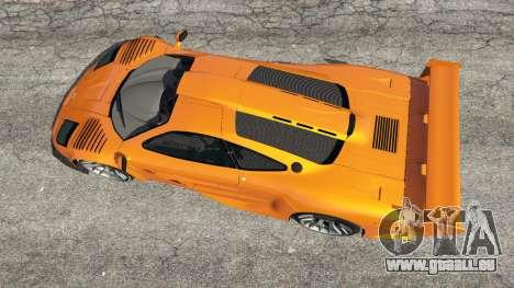 GTA 5 McLaren F1 GTR Longtail Rückansicht
