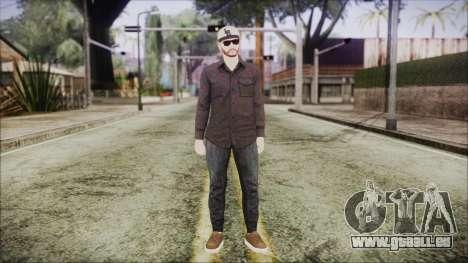 GTA Online Skin 40 pour GTA San Andreas deuxième écran