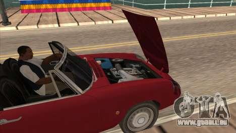 1966 Alfa Romeo Spider Duetto [IVF] für GTA San Andreas rechten Ansicht