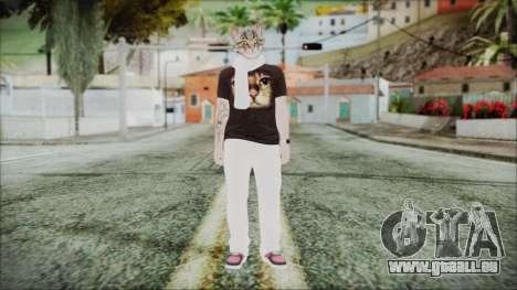 GTA Online Skin 35 pour GTA San Andreas deuxième écran