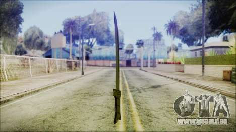 Grass Sword from Adventure Time für GTA San Andreas dritten Screenshot