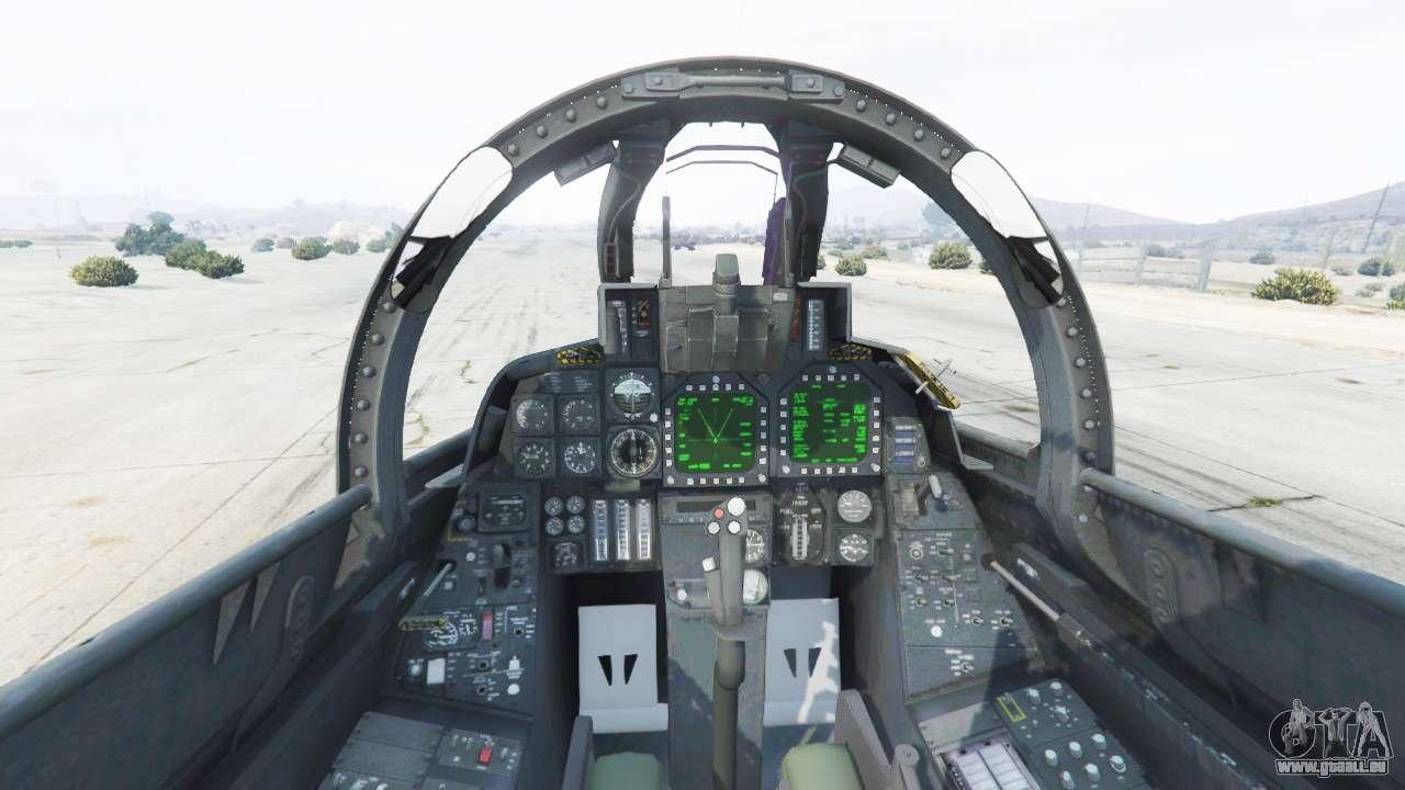 Grumman F 20D Super Tomcat Redux für GTA 20
