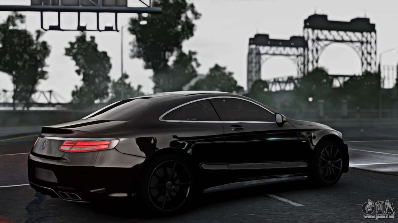 mercedes benz s63 coupe amg 2015 pour gta 4. Black Bedroom Furniture Sets. Home Design Ideas