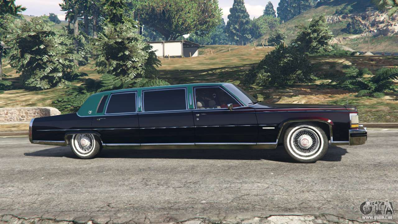 cadillac fleetwood 1985 limousine beta pour gta 5. Black Bedroom Furniture Sets. Home Design Ideas