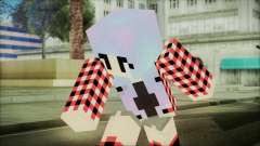 Minecraft Female Skin Edited pour GTA San Andreas