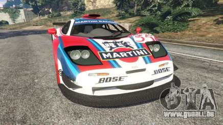 McLaren F1 GTR Longtail [Martini Racing] für GTA 5