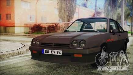 Opel Manta GSi Exclusive pour GTA San Andreas
