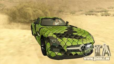 Mercedes-Benz SLS AMG Snake pour GTA San Andreas