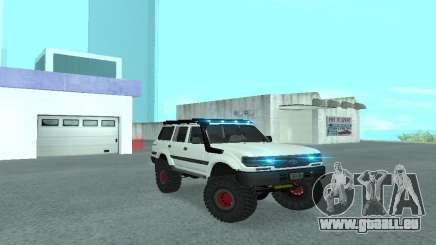 Toyota Autana 4500 off-road LED für GTA San Andreas