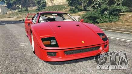 Ferrari F40 1987 für GTA 5
