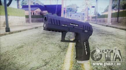 GTA 5 Combat Pistol v2 - Misterix 4 Weapons pour GTA San Andreas