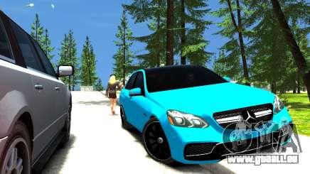 Mercedes-Benz E63 W212 AMG für GTA 4