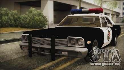 Dodge Monaco 1974 LSPD IVF für GTA San Andreas