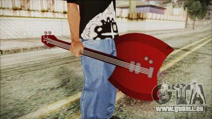 Axe Bass Marceline from Adventure Time pour GTA San Andreas