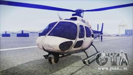 Batman Arkham Knight Police-Swat Helicopter für GTA San Andreas