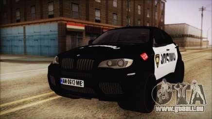 BMW X6 Georgia Police für GTA San Andreas