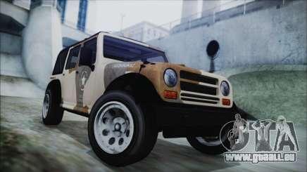 GTA 5 Canis Crusader IVF pour GTA San Andreas