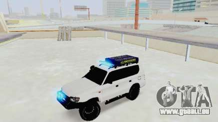 Toyota Land Cruiser Prado off-road LED pour GTA San Andreas