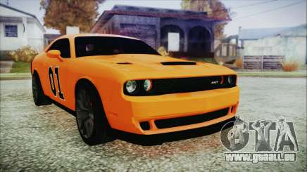 Dodge Challenger SRT 2015 Hellcat General Lee pour GTA San Andreas