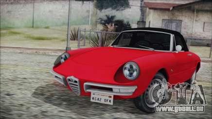 Alfa Romeo Spider Duetto 1966 pour GTA San Andreas