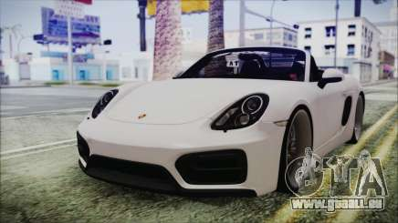 Porsche Boxster GTS 2016 für GTA San Andreas