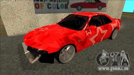 Nissan Skyline R33 Drift Red Star pour GTA San Andreas