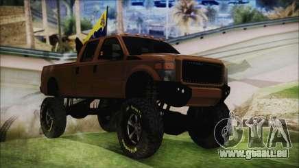 Ford F-250 Grenade Truck pour GTA San Andreas