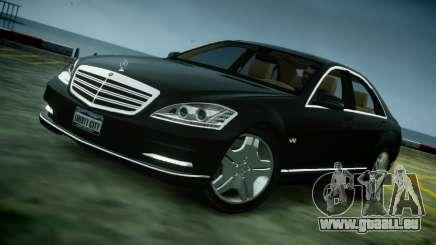 Mercedes-Benz S600 2011 pour GTA 4