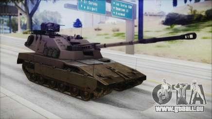M4 Scorcher Self Propelled Artillery pour GTA San Andreas