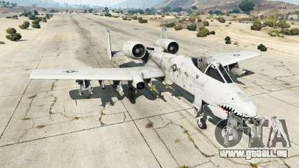 Fairchild Republic A-10A Thunderbolt II v1.2 für GTA 5
