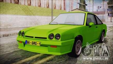 Opel Manta New Kids HQ für GTA San Andreas