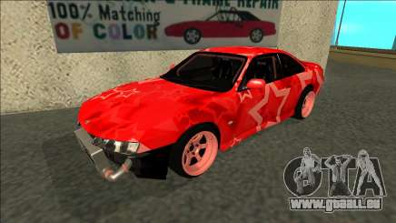 Nissan Silvia S14 Drift Red Star pour GTA San Andreas