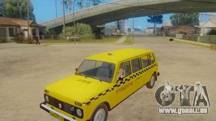 VAZ 2131 7-Tür-Taxi für GTA San Andreas
