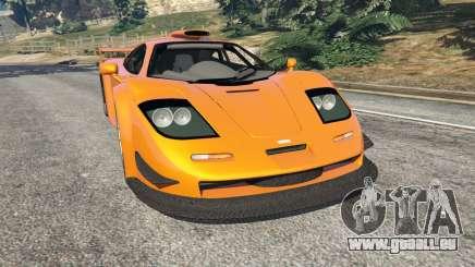 McLaren F1 GTR Longtail für GTA 5