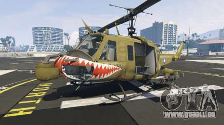 Bell UH-1D Iroquois Huey Gunship für GTA 5