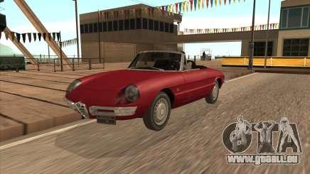 1966 Alfa Romeo Spider Duetto [IVF] pour GTA San Andreas
