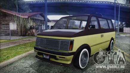 GTA 5 Declasse Moonbeam Custom für GTA San Andreas