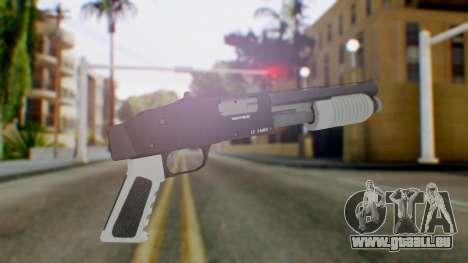 GTA 5 Sawed-Off Shotgun - Misterix 4 Weapons pour GTA San Andreas deuxième écran