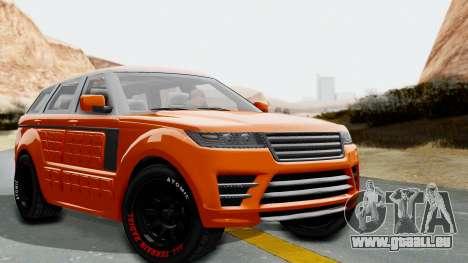 GTA 5 Gallivanter Baller LE Arm IVF für GTA San Andreas
