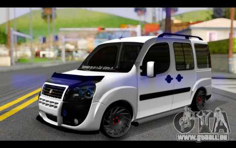 Fiat Doblo pour GTA San Andreas