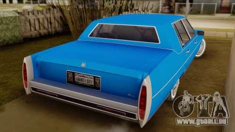 GTA 4 Albany Emperor pour GTA San Andreas laissé vue