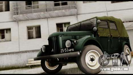GAZ-69A für GTA San Andreas