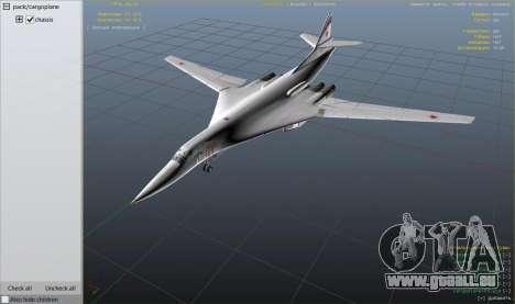 Tu-160 White Swan pour GTA 5