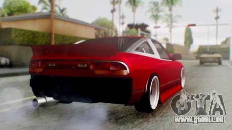 Nissan 240SX Drift v2 pour GTA San Andreas laissé vue