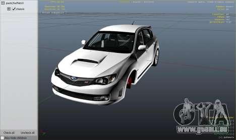 GTA 5 Roue Subaru Impreza WRX STI 1.1