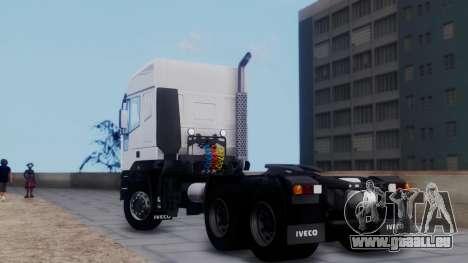 Iveco EuroTech v2.0 pour GTA San Andreas laissé vue