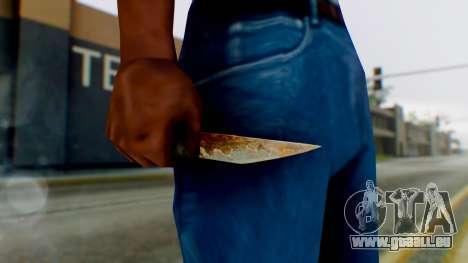 Shank pour GTA San Andreas troisième écran